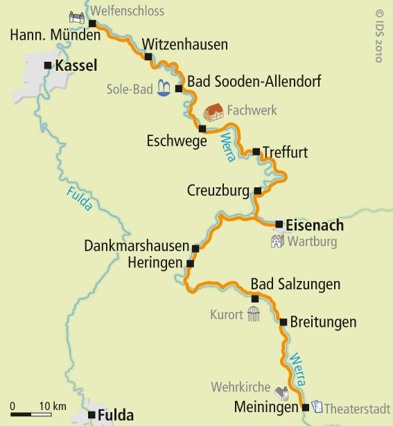 Weser Radweg Karte Pdf.Werra Radweg Karte Radweg Karten Velociped