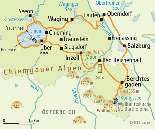 Tour Of Cheimsee