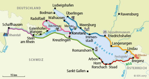 Lake Constance Bike Trail Round Trip For Connoisseurs