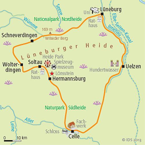 Hotels In Der Luneburger Heide  Sterne
