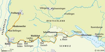 Bodensee Radweg Hochrhein Radreise Radurlaub Radtour Velociped