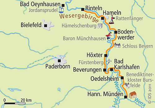 Weser Radweg Karte Pdf.Weser Radweg Karte Pdf Karte